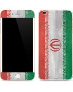 Iran Flag Distressed iPhone 6/6s Plus Skin