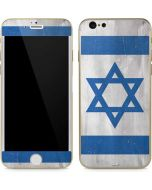 Israel Flag Distressed iPhone 6/6s Skin