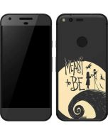 Jack and Sally Meant to Be Google Pixel Skin
