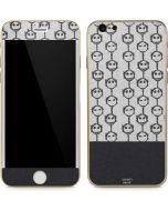Jack Skellington Grey Split iPhone 6/6s Skin