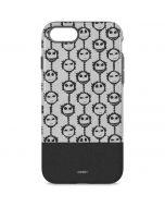 Jack Skellington Grey Split iPhone 8 Pro Case