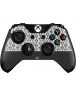Jack Skellington Grey Split Xbox One Controller Skin