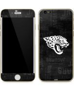 Jacksonville Jaguars Black & White iPhone 6/6s Skin
