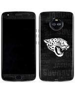 Jacksonville Jaguars Black & White Moto X4 Skin