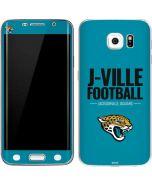 Jacksonville Jaguars Team Motto Galaxy S6 Edge Skin