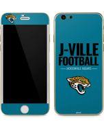 Jacksonville Jaguars Team Motto iPhone 6/6s Skin