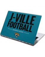 Jacksonville Jaguars Team Motto Yoga 910 2-in-1 14in Touch-Screen Skin