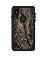 Jacksonville Jaguars Realtree AP Camo iPhone XS Waterproof Case