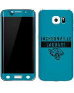 Jacksonville Jaguars Teal Performance Series Galaxy S6 Edge Skin