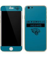 Jacksonville Jaguars Teal Performance Series iPhone 6/6s Skin