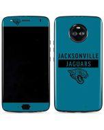 Jacksonville Jaguars Teal Performance Series Moto X4 Skin