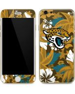 Jacksonville Jaguars Tropical Print iPhone 6/6s Skin