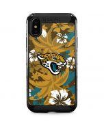Jacksonville Jaguars Tropical Print iPhone XS Max Cargo Case
