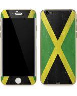 Jamaica Flag Distressed iPhone 6/6s Skin