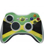 Jamaica Flag Distressed Xbox 360 Wireless Controller Skin