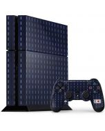 Japan Soccer Flag PS4 Console and Controller Bundle Skin