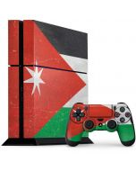 Jordan Flag Distressed PS4 Console and Controller Bundle Skin