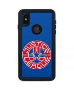Justice League Emblem iPhone X Waterproof Case