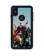 Justice League New 52 iPhone XS Waterproof Case