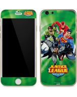 Justice League Team Power Up Green iPhone 6/6s Skin