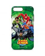Justice League Team Power Up Green iPhone 7 Plus Pro Case