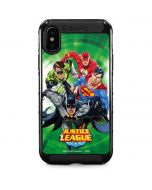 Justice League Team Power Up Green iPhone XS Max Cargo Case