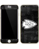 Kansas City Chiefs Black & White iPhone 6/6s Skin