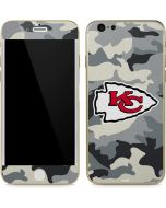Kansas City Chiefs Camo iPhone 6/6s Skin