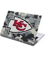 Kansas City Chiefs Camo Yoga 910 2-in-1 14in Touch-Screen Skin