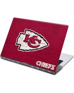 Kansas City Chiefs Distressed Yoga 910 2-in-1 14in Touch-Screen Skin