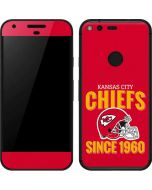 Kansas City Chiefs Helmet Google Pixel Skin