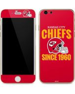 Kansas City Chiefs Helmet iPhone 6/6s Skin