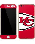 Kansas City Chiefs Large Logo iPhone 6/6s Skin