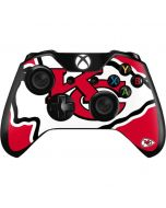 Kansas City Chiefs Large Logo Xbox One Controller Skin