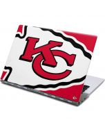 Kansas City Chiefs Large Logo Yoga 910 2-in-1 14in Touch-Screen Skin