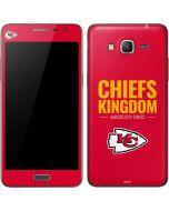 Kansas City Chiefs Team Motto Galaxy Grand Prime Skin