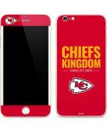 Kansas City Chiefs Team Motto iPhone 6/6s Plus Skin