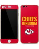 Kansas City Chiefs Team Motto iPhone 6/6s Skin