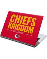 Kansas City Chiefs Team Motto Yoga 910 2-in-1 14in Touch-Screen Skin