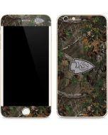 Kansas City Chiefs Realtree Xtra Green Camo iPhone 6/6s Plus Skin