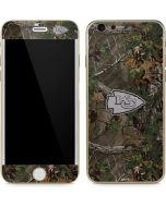 Kansas City Chiefs Realtree Xtra Green Camo iPhone 6/6s Skin