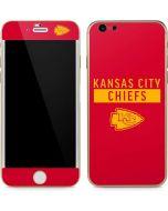 Kansas City Chiefs Red Performance Series iPhone 6/6s Skin