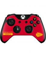 Kansas City Chiefs Red Performance Series Xbox One Controller Skin