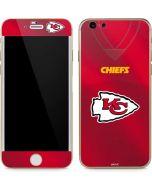 Kansas City Chiefs Team Jersey iPhone 6/6s Skin