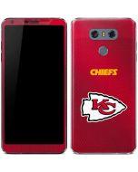 Kansas City Chiefs Team Jersey LG G6 Skin