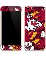 Kansas City Chiefs Tropical Print iPhone 6/6s Plus Skin