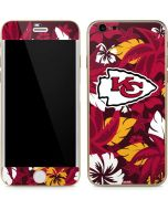 Kansas City Chiefs Tropical Print iPhone 6/6s Skin