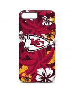 Kansas City Chiefs Tropical Print iPhone 7 Plus Pro Case