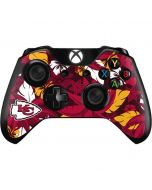 Kansas City Chiefs Tropical Print Xbox One Controller Skin