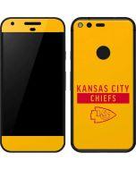 Kansas City Chiefs Yellow Performance Series Google Pixel Skin